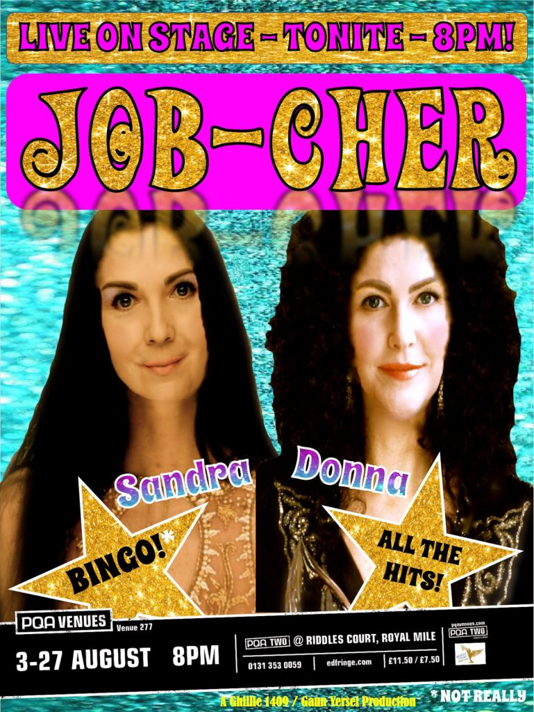 Leonna McGilligan and Caroline Mathison in Job-Cher