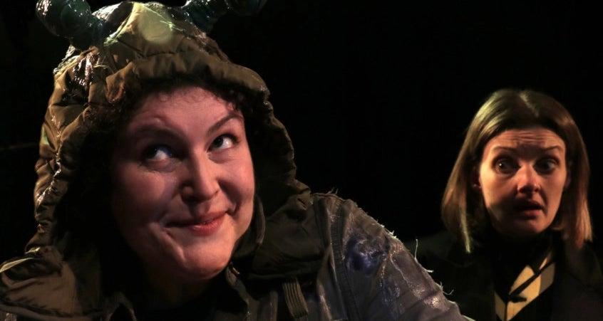 Caroline Mathison in 'Slug'