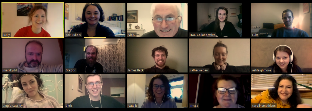 The Bridges team works remotely (for now!)