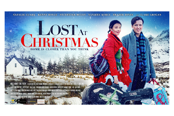 Natalie Clark in 'Lost at Christmas'