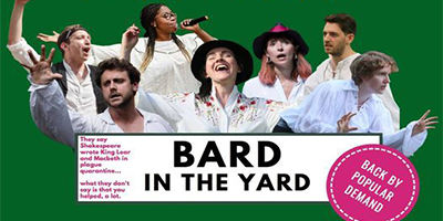 Caroline Mathison in 'Bard in the Yard'